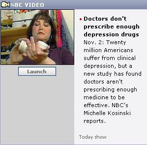 MSNBC antidepressants