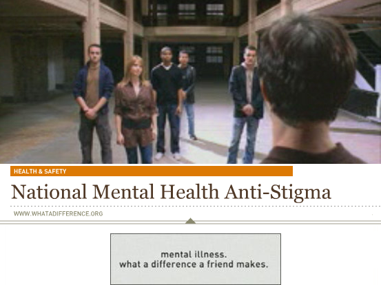 National Mental Health Anti-Stigma