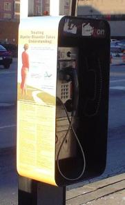 Abilify phone booth (side view)