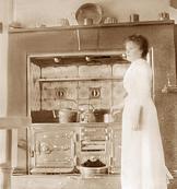 Coal-gas oven
