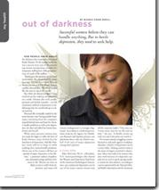 Pink Magazine: Out of Darkness