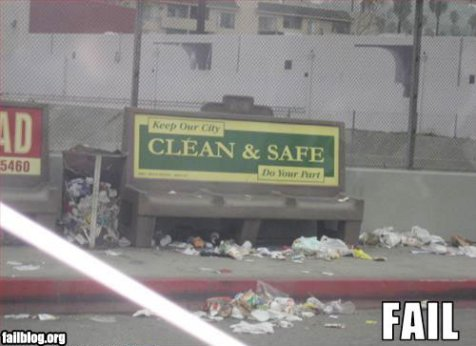 Clean & Safe fail