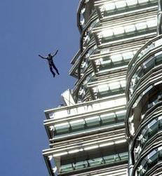 Suicide jump