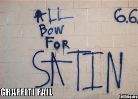 satin bow